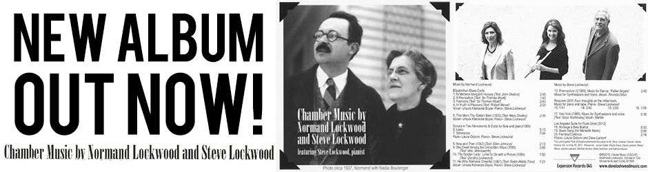 Chamber Music By Normand Lockwood and Steve Lockwood
